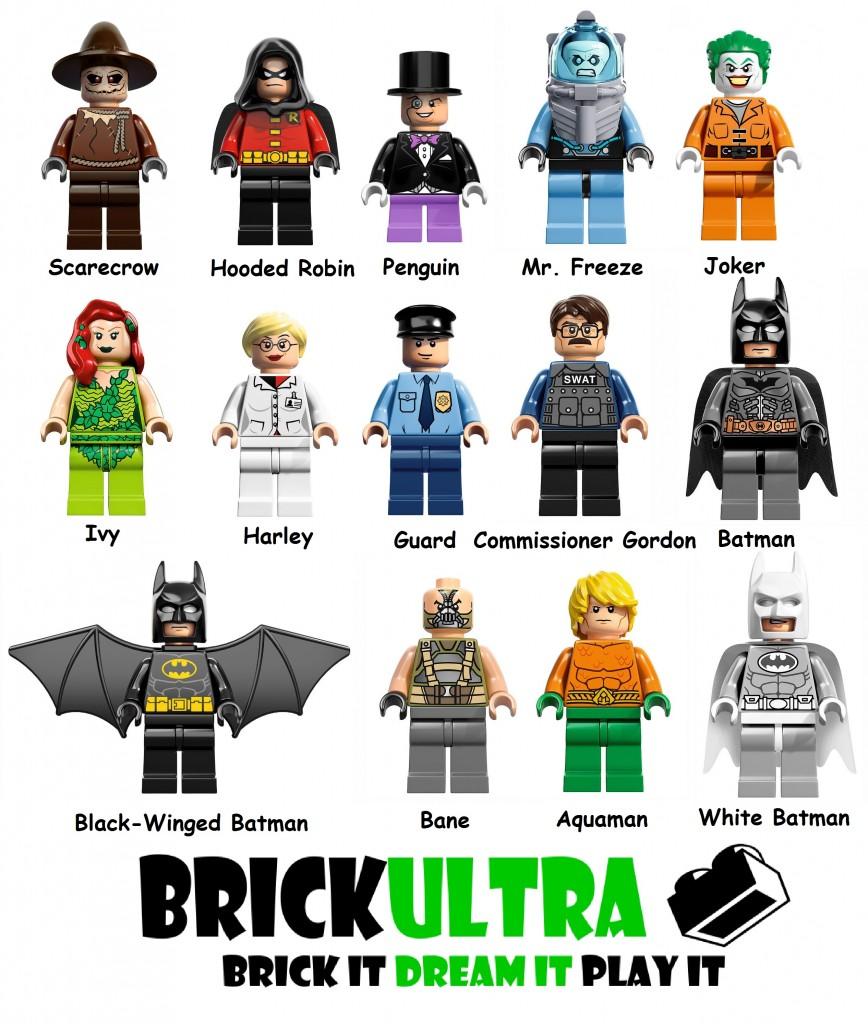 All Lego Batman 2 Characters