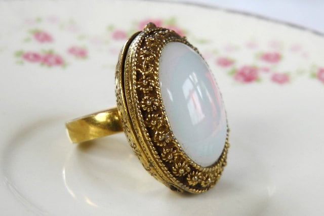 Antique Poison Ring