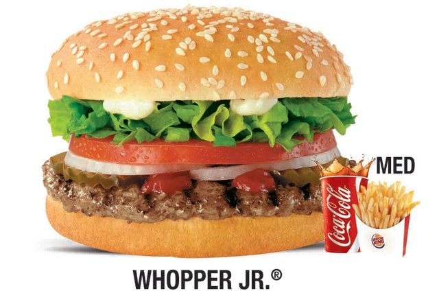 Burger King Double Whopper Meal Calories
