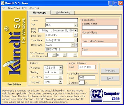 indian astrology software freeware