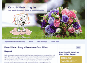 kundli online matchmaking in hindi Kundli 7 astrology software now available for windows xp, windows vista and windows 7 added special tools in kundli 7 now offeres transit study, export char.