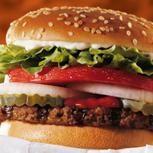 whopper jr calories no cheese