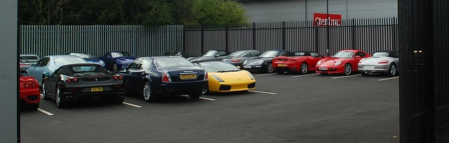 Lamborghini Garage Edinburgh
