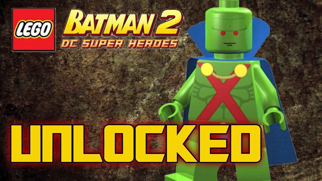Lego Batman 2 Cheats Wii Martian Manhunter