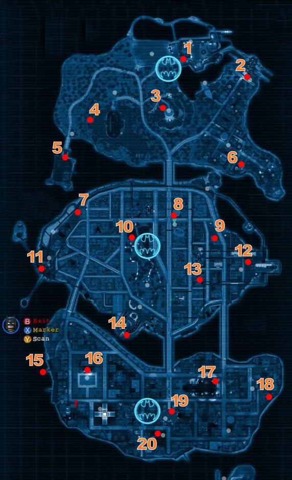 Lego Batman 2 Map