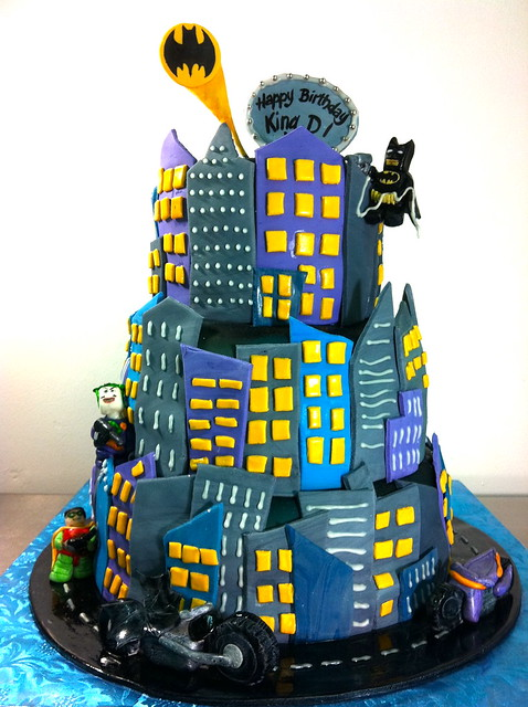 Lego Batman Cake Ideas