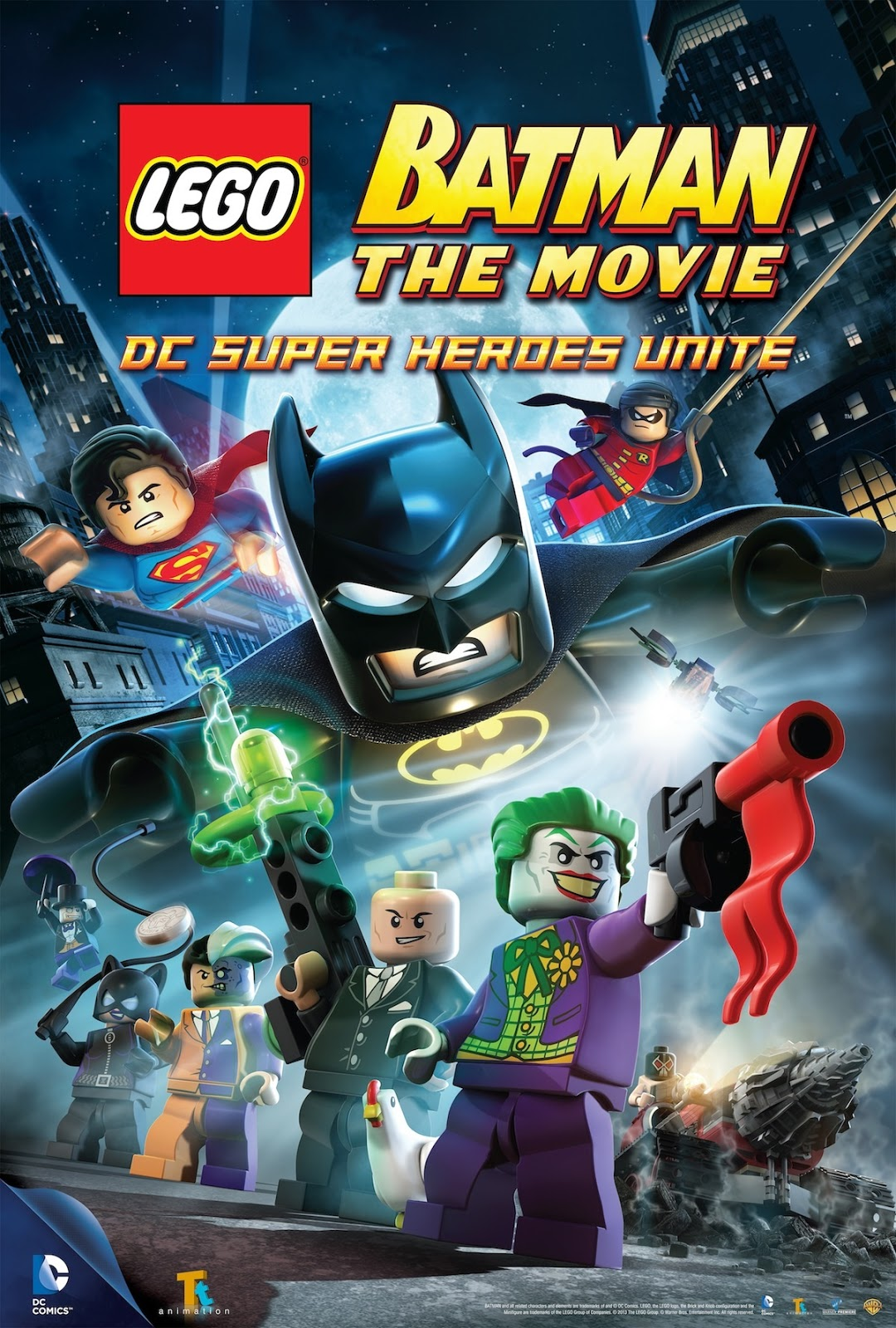 Lego Batman Toys Review