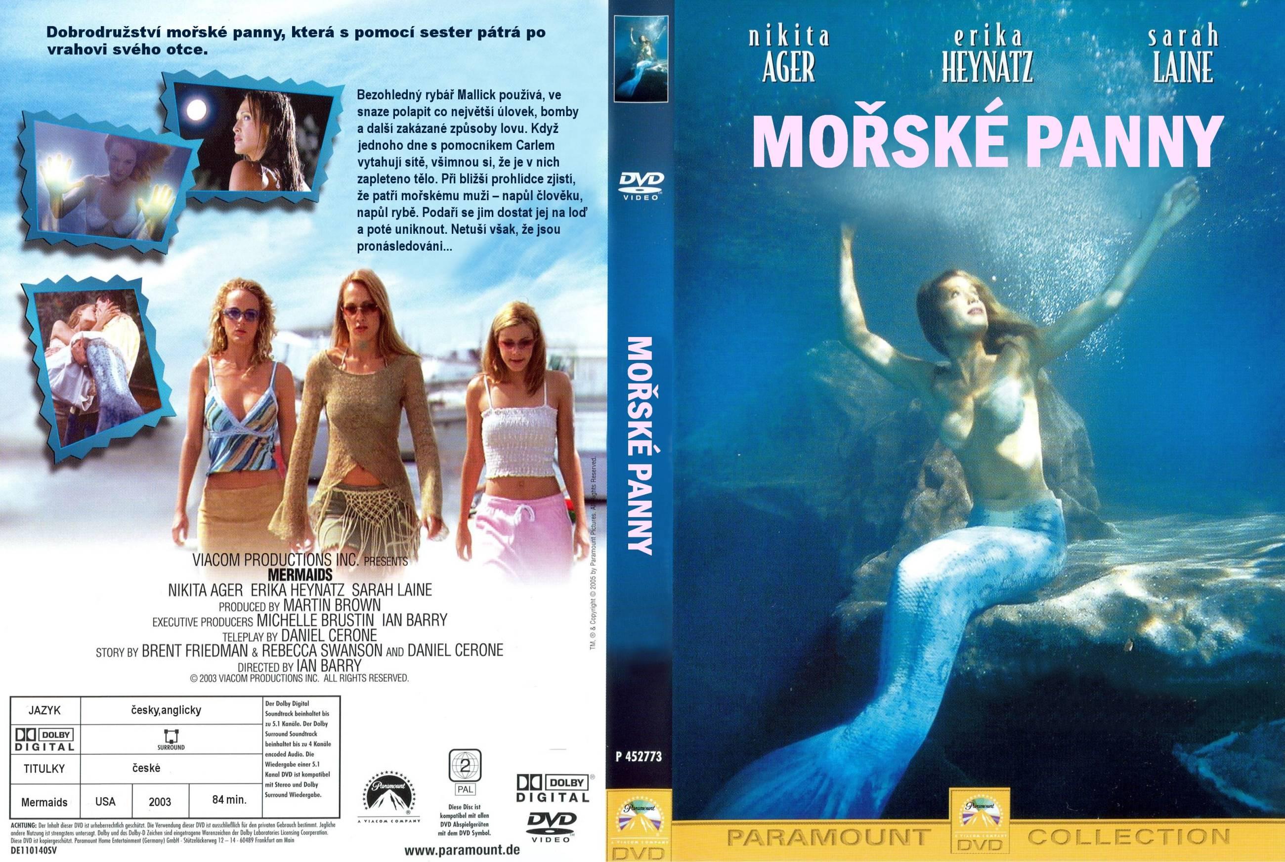 mermaids 2003 dvd
