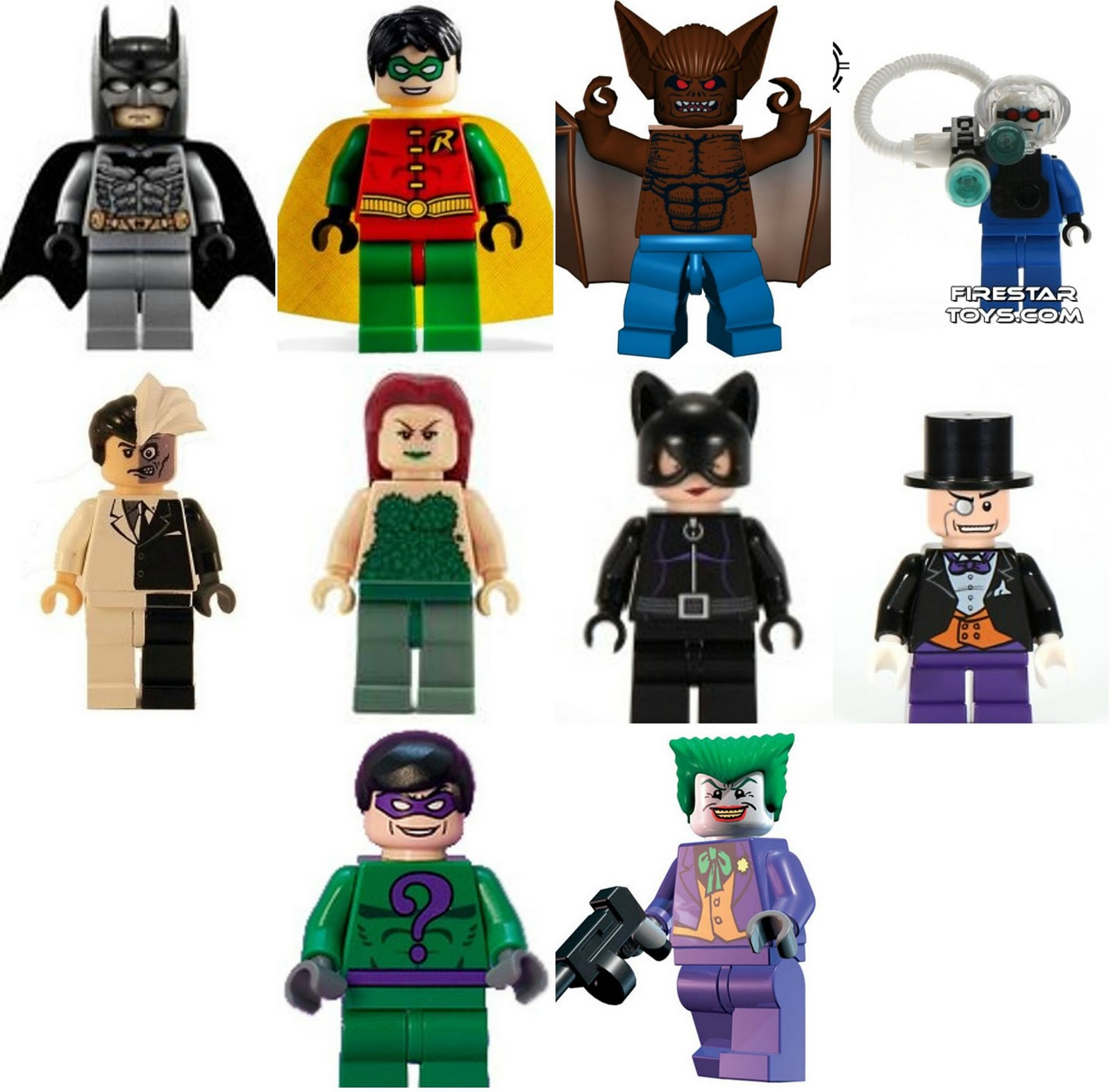 Pictures Of Lego Batman Characters