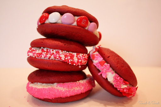 how to make red velvet whoopie pies from cake mix