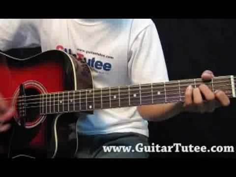Thinking of you katy perry guitar chords