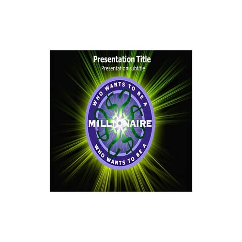 Who wants to be a millionaire template powerpoint with music for Who wants to be a millionaire blank template powerpoint