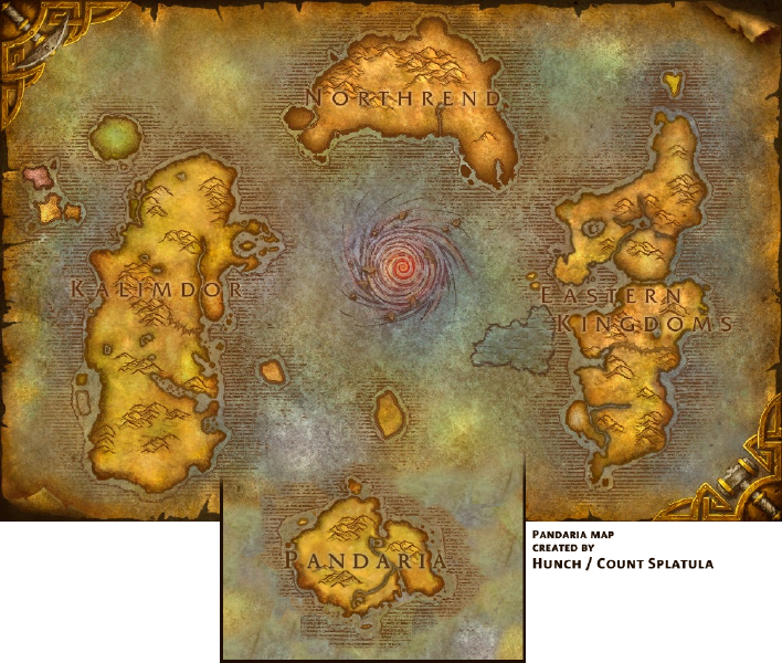 Project Two World Of Warcraft Addon Map